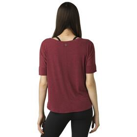 Prana Rogue T-Shirt Dames, spiced wine